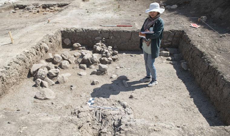 """<p>Yüzey araştırmalarıyla kentin arkeolojik kronolojisini tamamladıklarını ve bu durumun mutluluk verici olduğunu ifade eden Yılmaz, """"Yüzey araştırmalarında Fest Travel bizi destekledi. Bu yıl itibarıyla yüzey araştırmalarımızı, bütün hedeflerimizi gerçekleştirdiğimiz için tamamladık. Tunceli birçok medeniyetin geçiş güzergahı üzerinde yer alıyor. Bizim bulgularımız da bunu doğruladı. Bulgularımızı yayına hazırlamaya başladık"""" dedi.</p><p>Yılmaz, hazırlayacakları bilimsel makalelerin yayımlanmasıyla kentin tarih ve arkeoloji tutkunlarının ilgisini çekeceğini aktardı.</p>"""