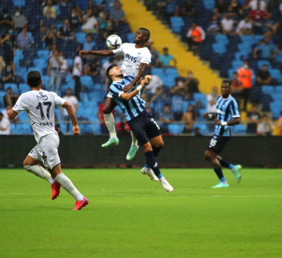 <p>Fenerbahçe yeni sezonun ilk maçında Adana'da, Adana Demirspor ile karşılaştı</p>