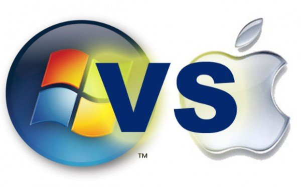 the battle between apple microsoft and