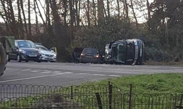 İngiltere Kraliçesi 2. Elizabeth'in eşi Prens Philip'in kaza yaptığı otoyolda hız sınırı düşürülüyor