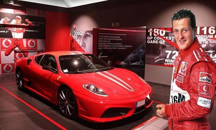 'Michael 50' sergisi Ferrari Müzesi'nde