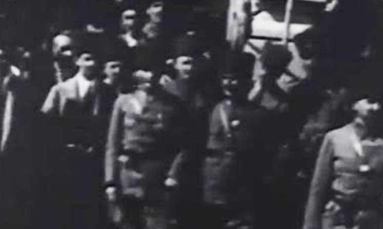 Atatürk'ün bilinmeyen görüntüleri arşivden çıktı