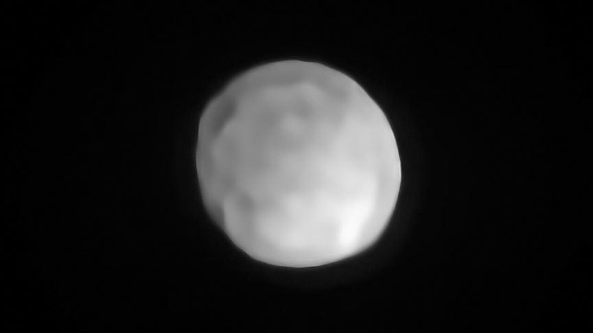 Hygiea Asteroidi 'cüce gezegenliğe' terfi edebilir