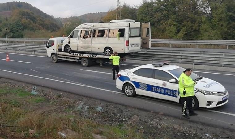 Zonguldak'ta kaza: Çok sayıda yaralı var
