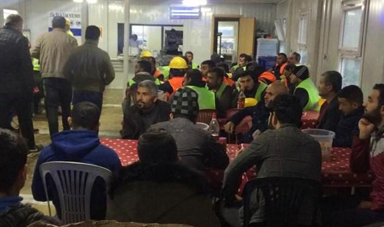 İstanbul Havalimanı'nda iş cinayeti eylemi