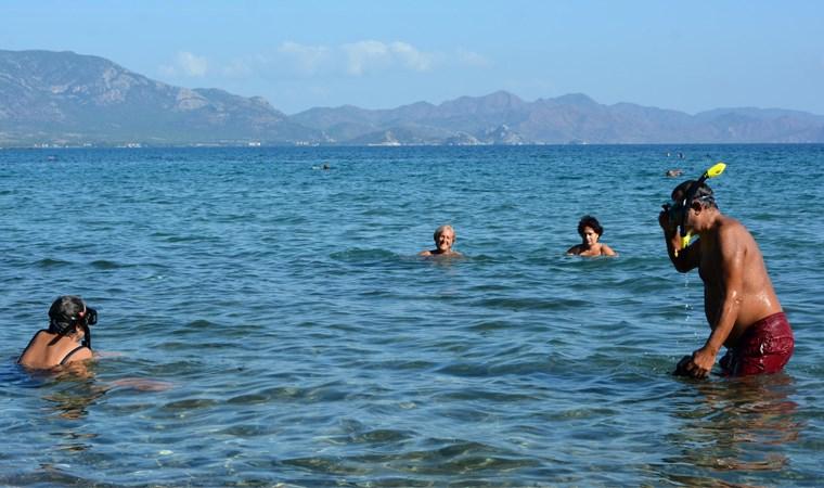Marmaris ve Datça'da kasım ayında deniz keyfi