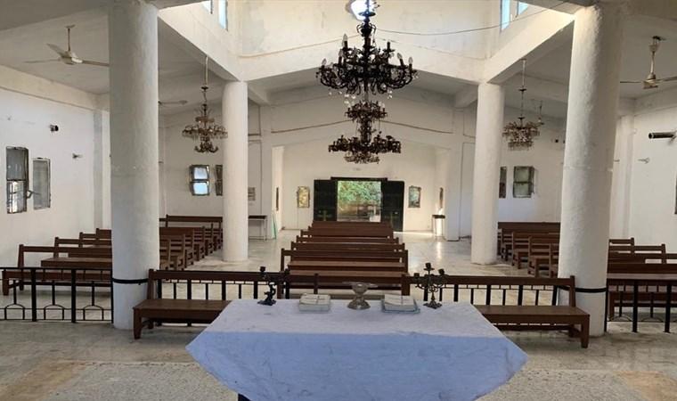 Türkiye'nin onardığı Tel Abyad'daki Ermeni Kilisesi ibadete açıldı