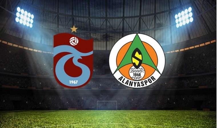 Trabzonspor'un konuğu Alanyaspor