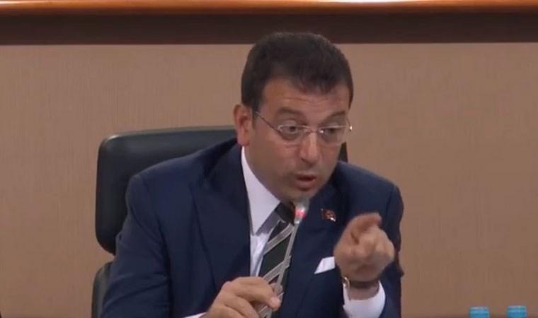 İBB Meclisi'nde 'damat' tartışması... İmamoğlu: Elini indir! Haddini bil!