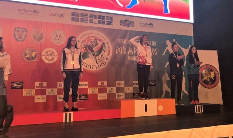 Bediha Taçyıldız yine  Avrupa Şampiyonu oldu