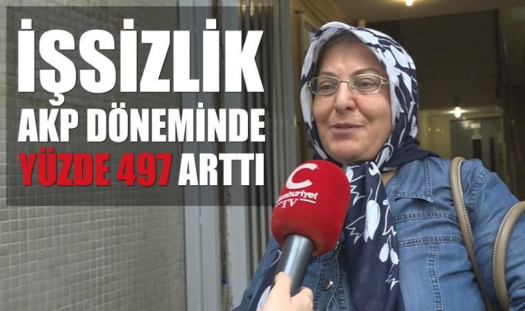 İşsizlik, AKP döneminde yüzde 497 arttı