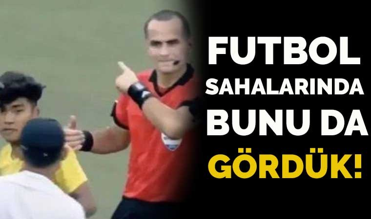 Futbol sahalarında bir ilk… Sağlık görevlisi sarı kart gördü!