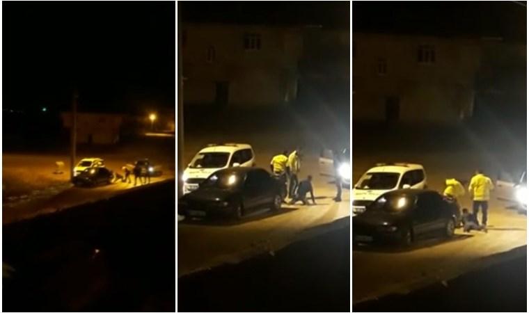 Yurttaşı tekme tokat döven polisler açığa alındı!
