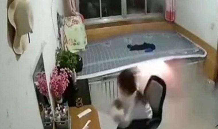 Yatak patladı!