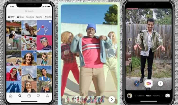 Instagram'dan TikTok'a rakip hamle: Reels