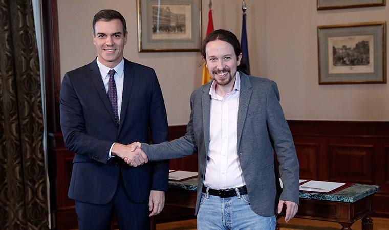 İspanya tarihinde ilk: Koalisyon hükümeti için sol partiler anlaştı