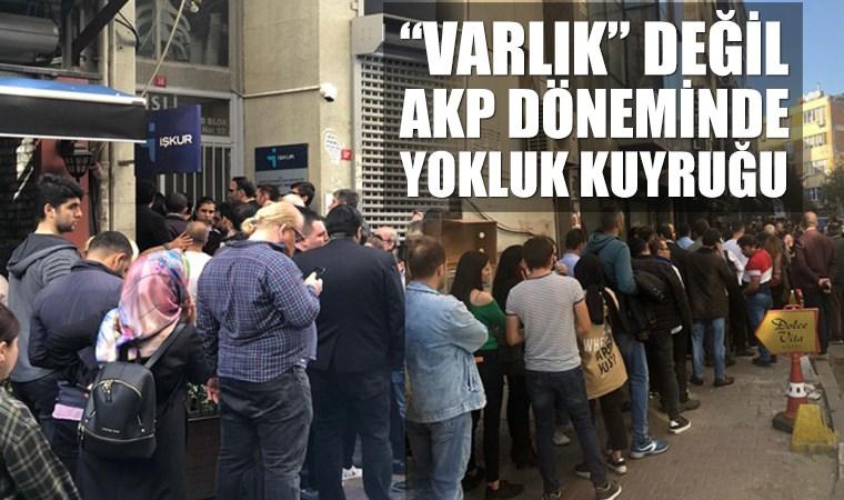 Özel bir banka 25 kişilik engelli kadrosu açtı, İŞKUR'un önünde metrelerce kuyruk oluştu.