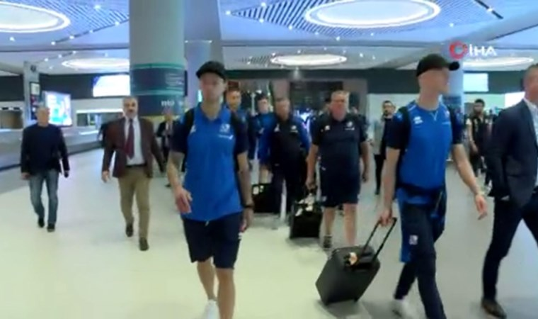 İzlanda, İstanbul'a geldi