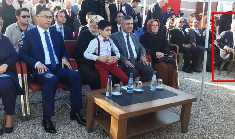 Sinop'ta protokol skandalı: Belediye Başkanına yer vermediler