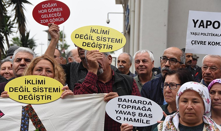 İzmir'de yurttaşlardan valiliğe JES tepkisi