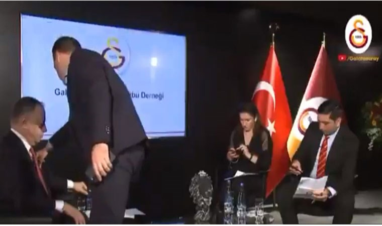 Galatasaray'da canlı yayın hatası: İnanmıyorum ya, yayın devam ediyormuş...