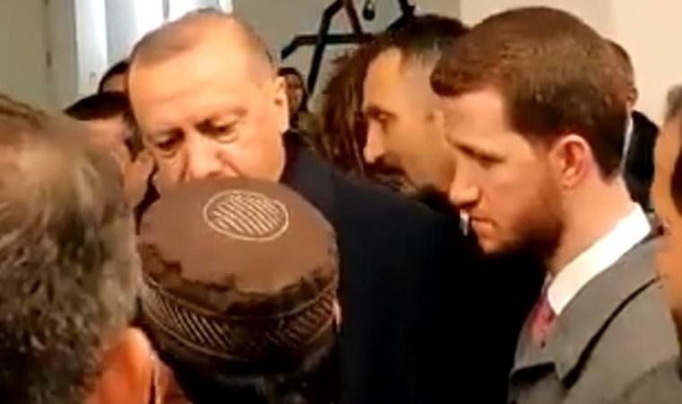 """Camide kendisine """"I love you man"""" diyen kişiye Erdoğan böyle yanıt verdi"""