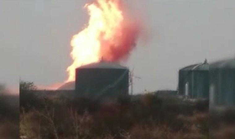 Karacabey'de süt fabrikasında yangın