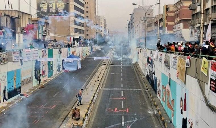 Irak'ta protestolar devam ediyor: 3 ölü