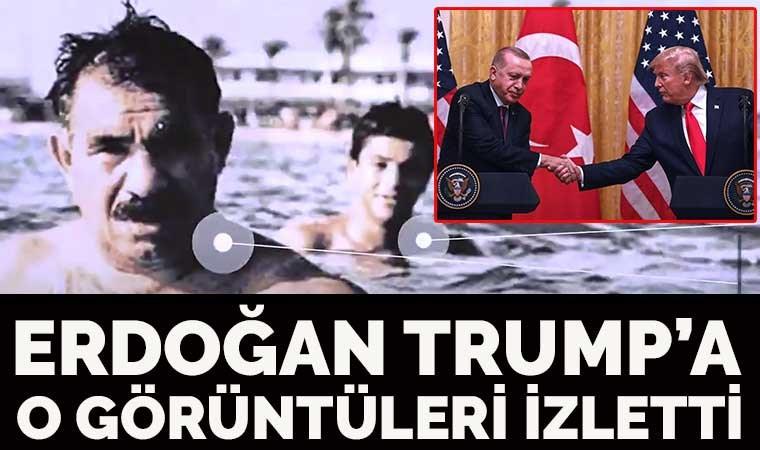 İşte Erdoğan'ın Trump'a izlettirdiği o video