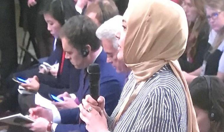 Trump'ın sözlerinin ardından Hilal Kaplan'dan ilk açıklama