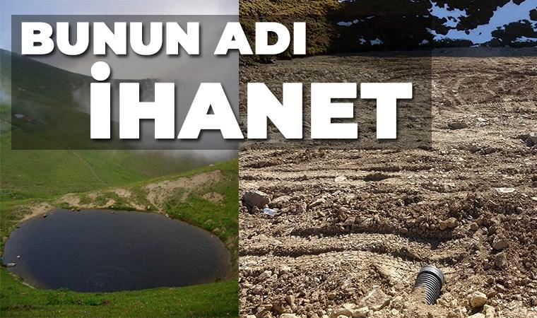 12 bin yıllık Dipsiz Göl'ü yok ettiler, yasal izinli definecilerin adı gizli tutuluyor