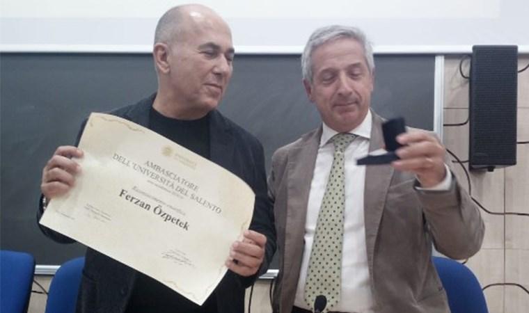 İtalyan üniversitesinden Özpetek'e fahri elçilik