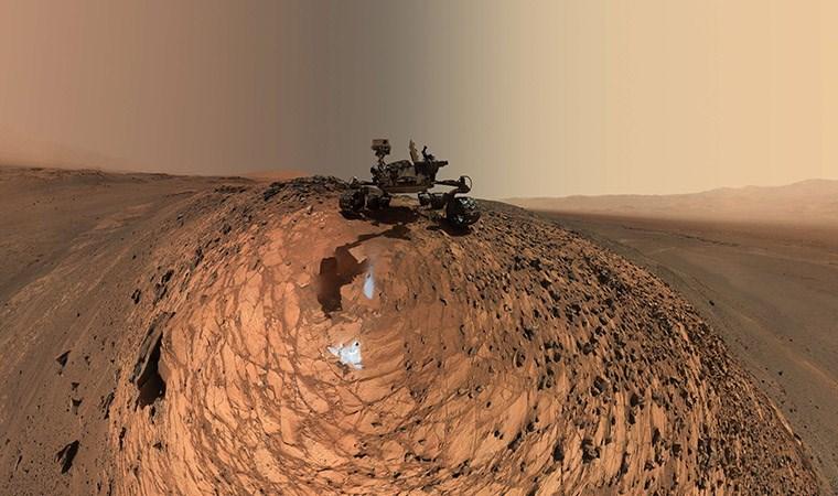 Mars'ta gizemli oksijen