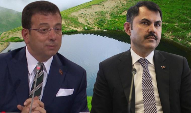 İmamoğlu'ndan Bakan Kurum'a: Gitsin Dipsiz Göl'ü çözsün
