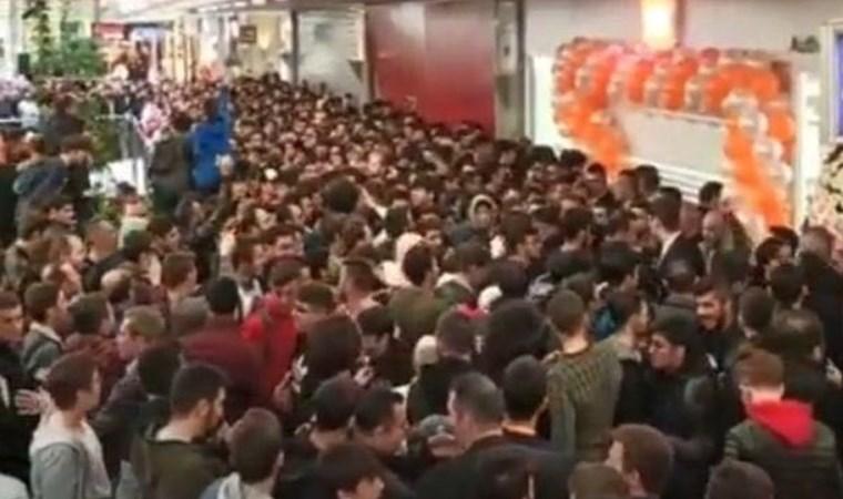 Ankara'da izdiham nedeniyle mağaza açılışı iptal edildi