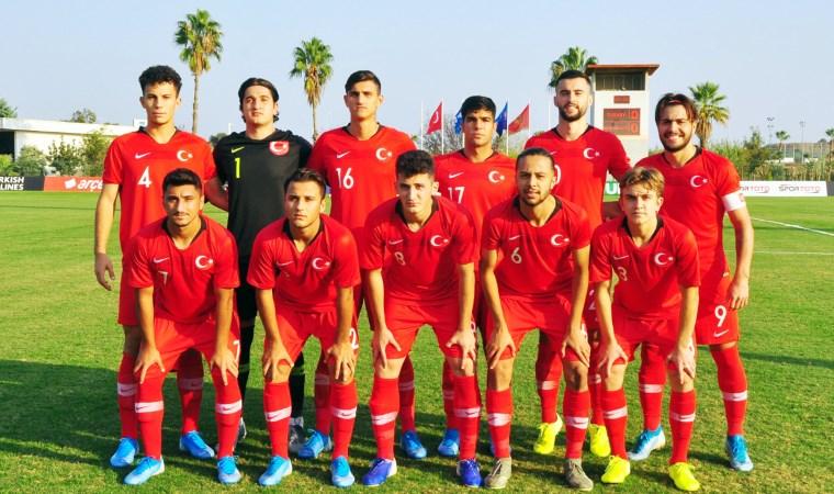 U19'larda Karadağ'ı 2-1 yendik