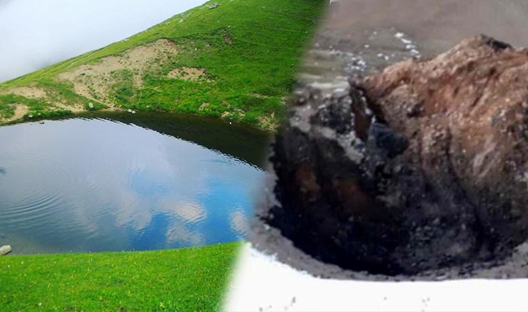 Dipsiz Göl talanı: Kar yağışı beklenecek