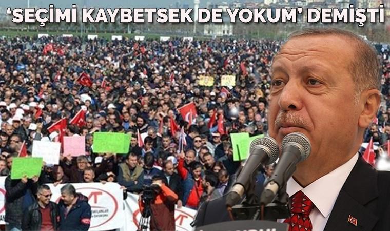 EYT'lilerden Erdoğan'a yanıt