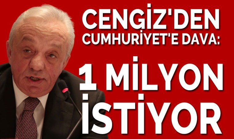 1 milyonluk dava!..