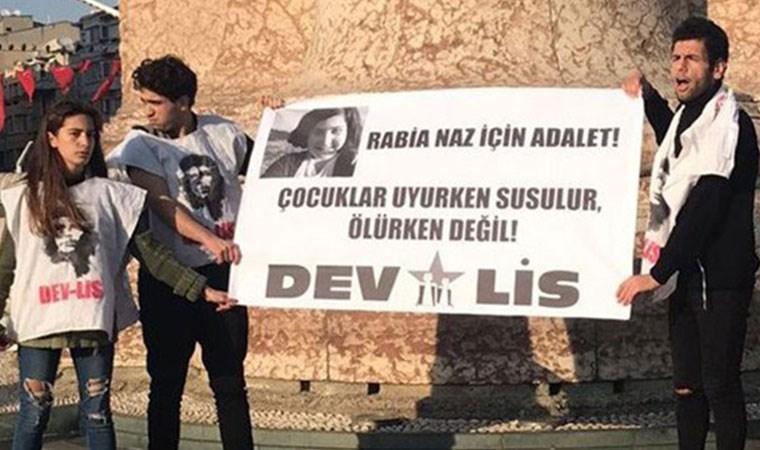 Rabia Naz Vatan için eylem yapan liseliler serbest bırakıldı