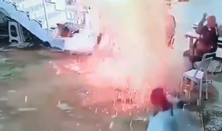 Cam fasulye konservesi böyle patladı