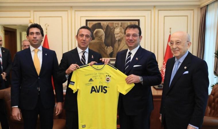 Ali Koç ve Fenerbahçe yönetiminden  İmamoğlu'na ziyaret
