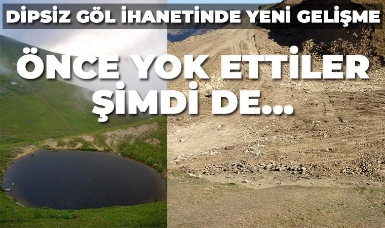 Bakan Kurum: Dipsiz Göl doğal sit alanı ilan edilecek