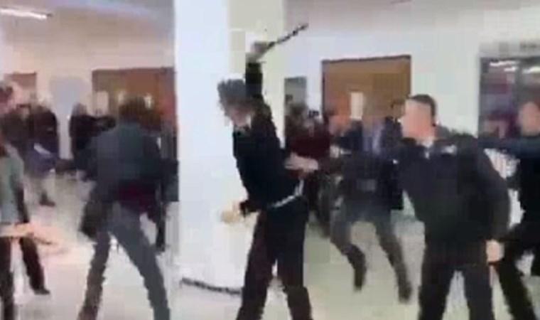 Üniversitelilere özel güvenlikten coplu saldırı