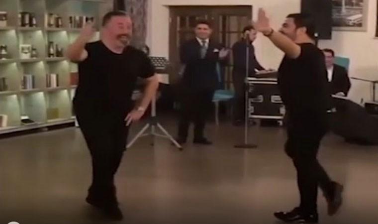Cem Yılmaz'dan Azeri dansı performansı