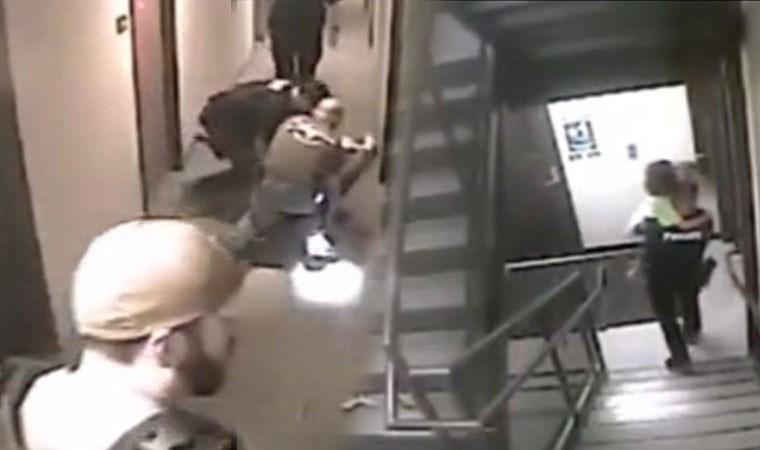 Kaçırılan kız çocuğunun kurtarılma anı kamerada!