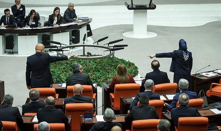 Engin Özkoç ile AKP'li Zengin arasındaki tartışma tutanaklara böyle yansıdı