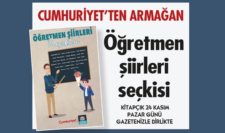 Cumhuriyet'ten Öğretmenler Günü'nde özel kitap