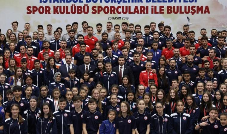 Ekrem İmamoğlu, İBBSK'lı sporculardan 'madalya' istedi