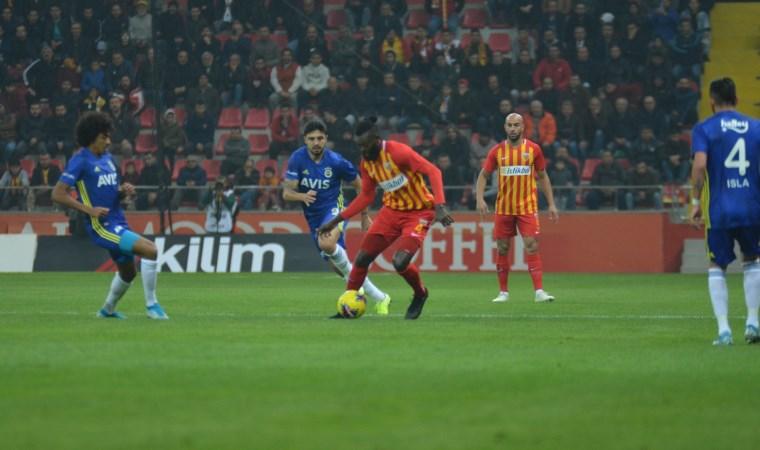 Fenerbahçe Kayseri'de kayboldu